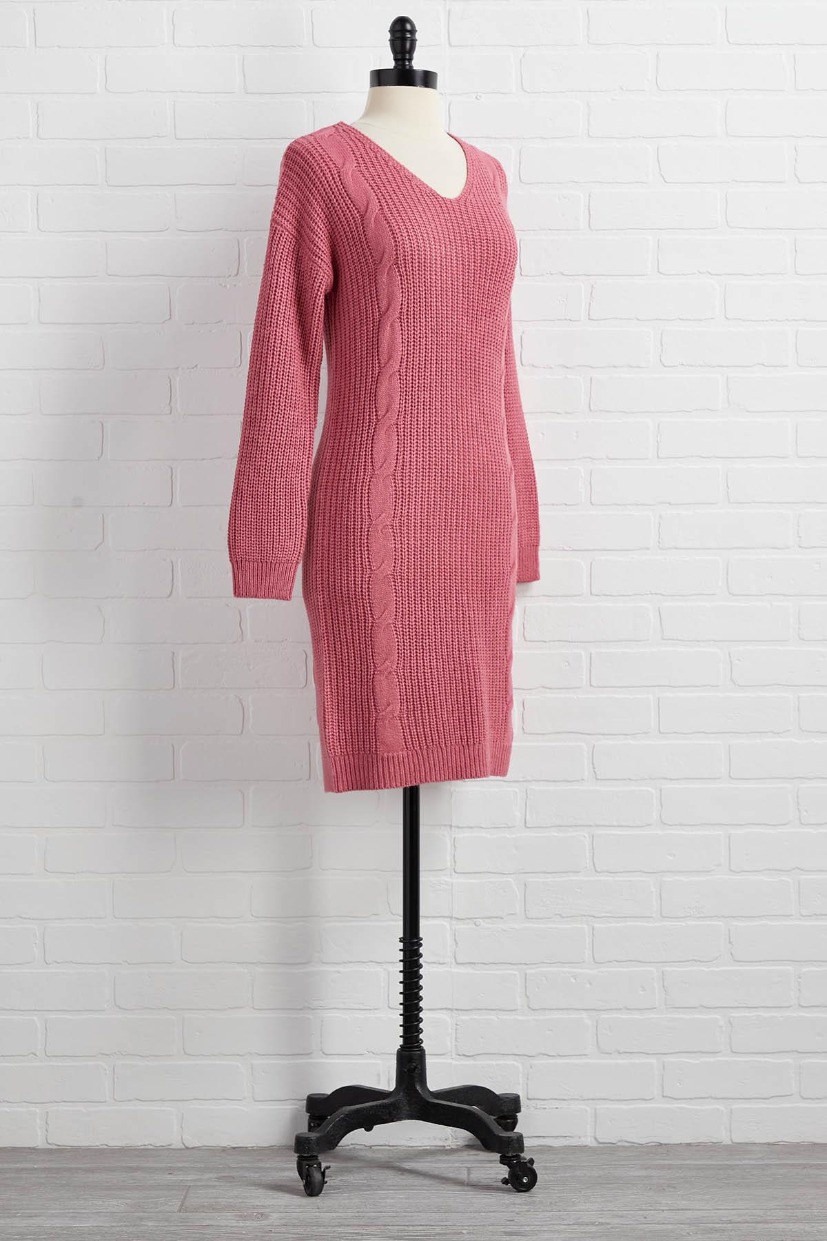 Orange Is The New Pink Dress