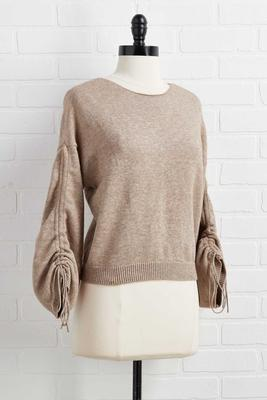 cinch me i`m dreaming sweater