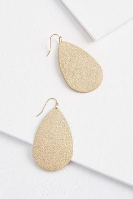 gold dusted earrings