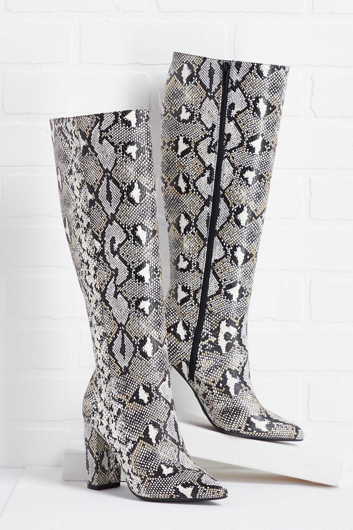 Fake It ` Till You Snake It Boots