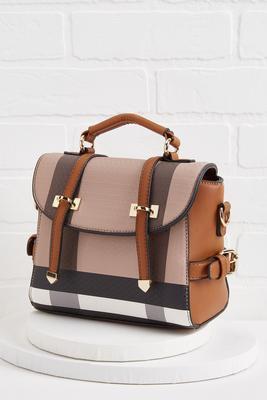 versatile plaid bag