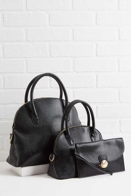 three of a kind bag set
