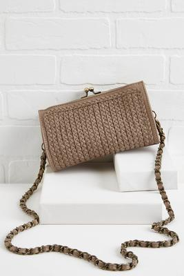 braided clutch