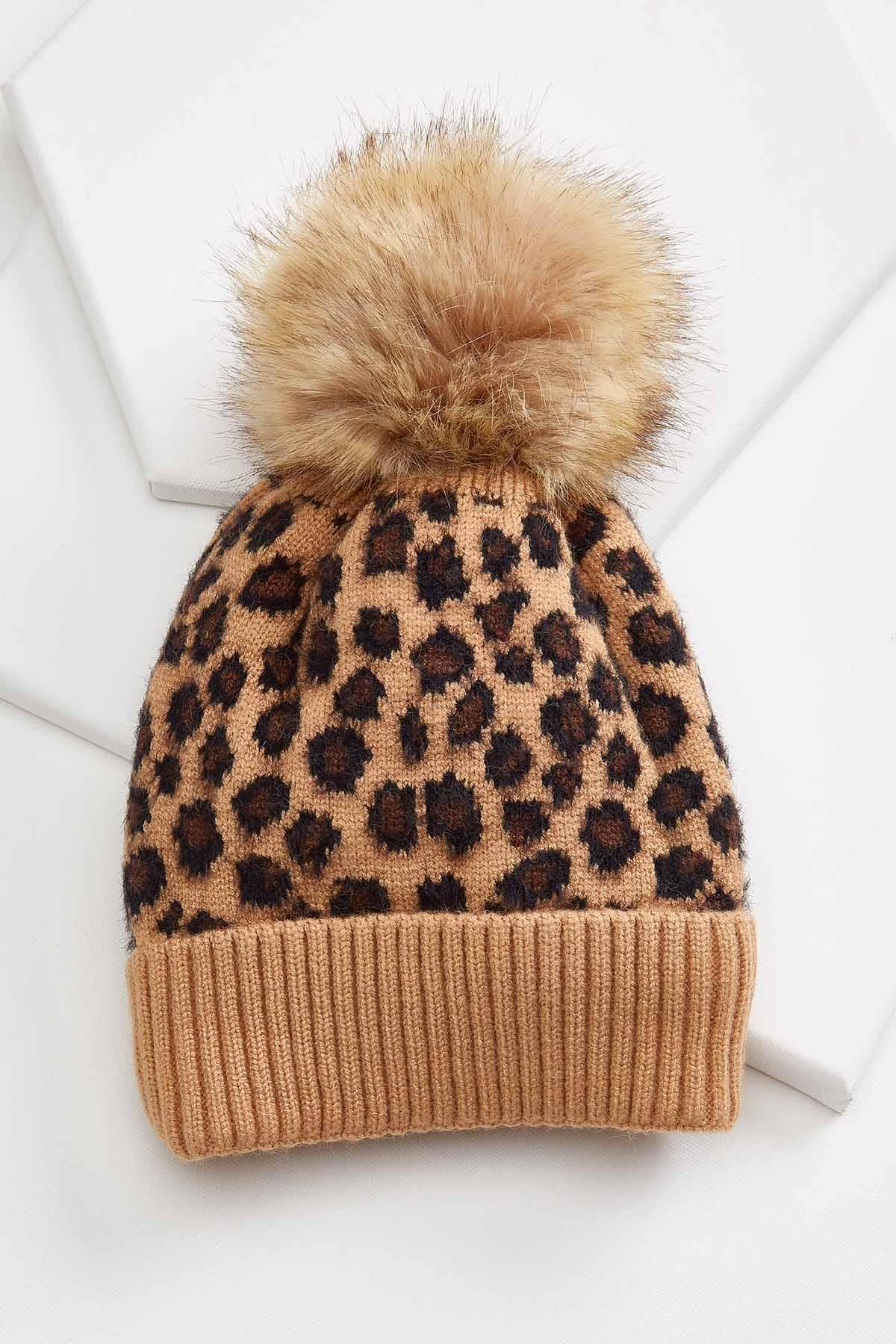 Snow Leopard Beanie