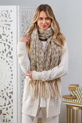 wild winter storm scarf