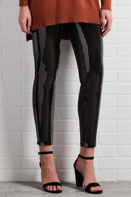 sequin shine leggings