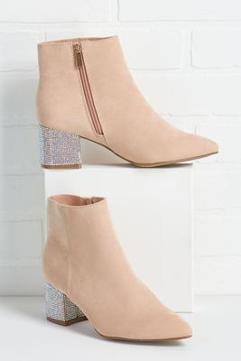 hot on your heels booties