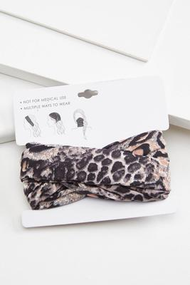 leopard multi function head wrap