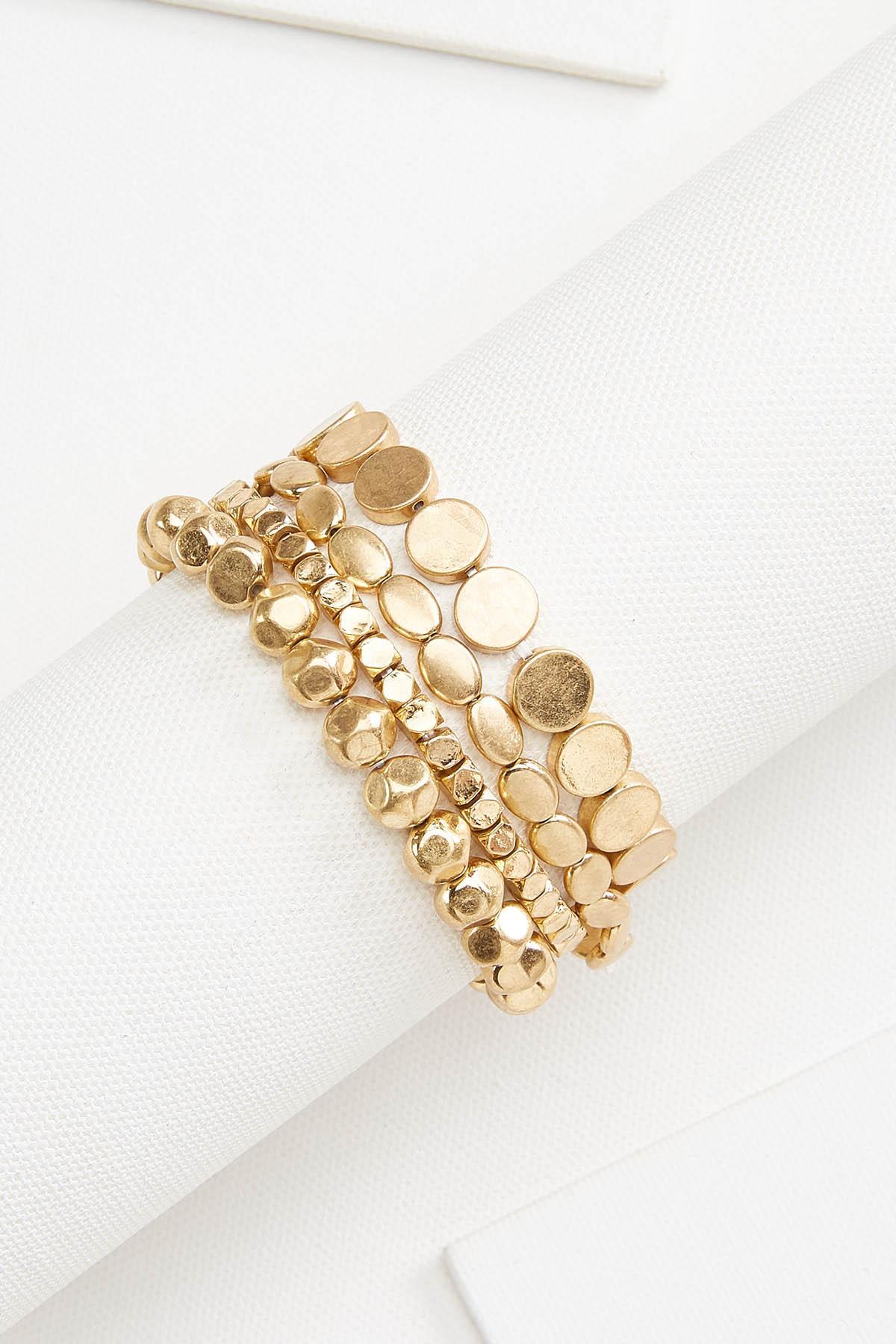 Golden Bracelet Set