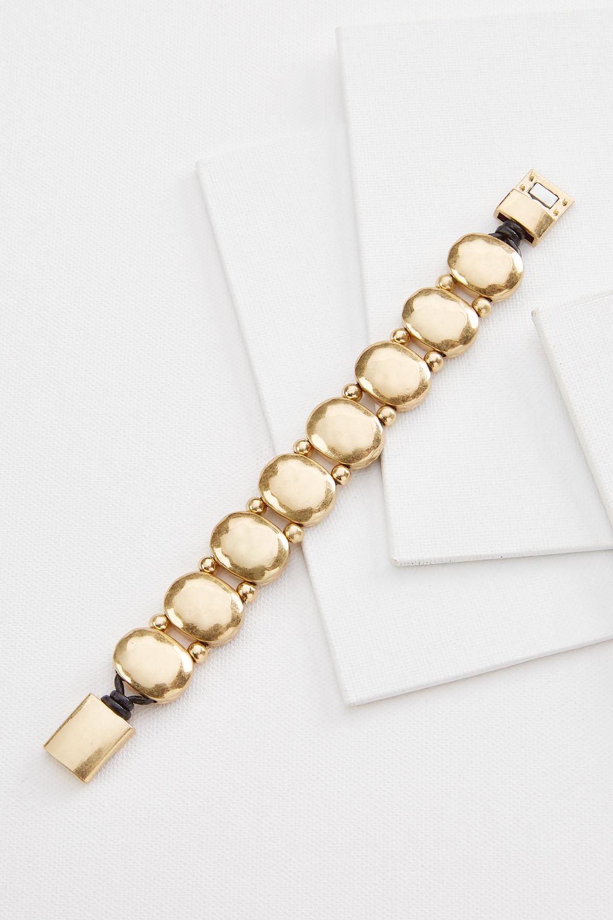 Golden Stone Bracelet