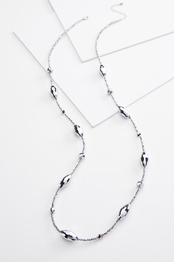 Long Geometric Necklace
