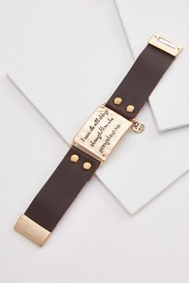philippians 4.13 magnetic bracelet