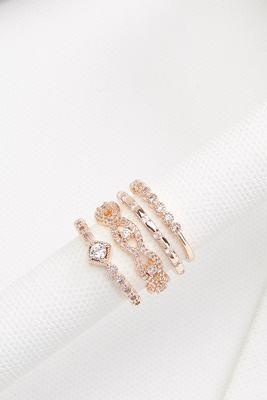 sparkle season ring set