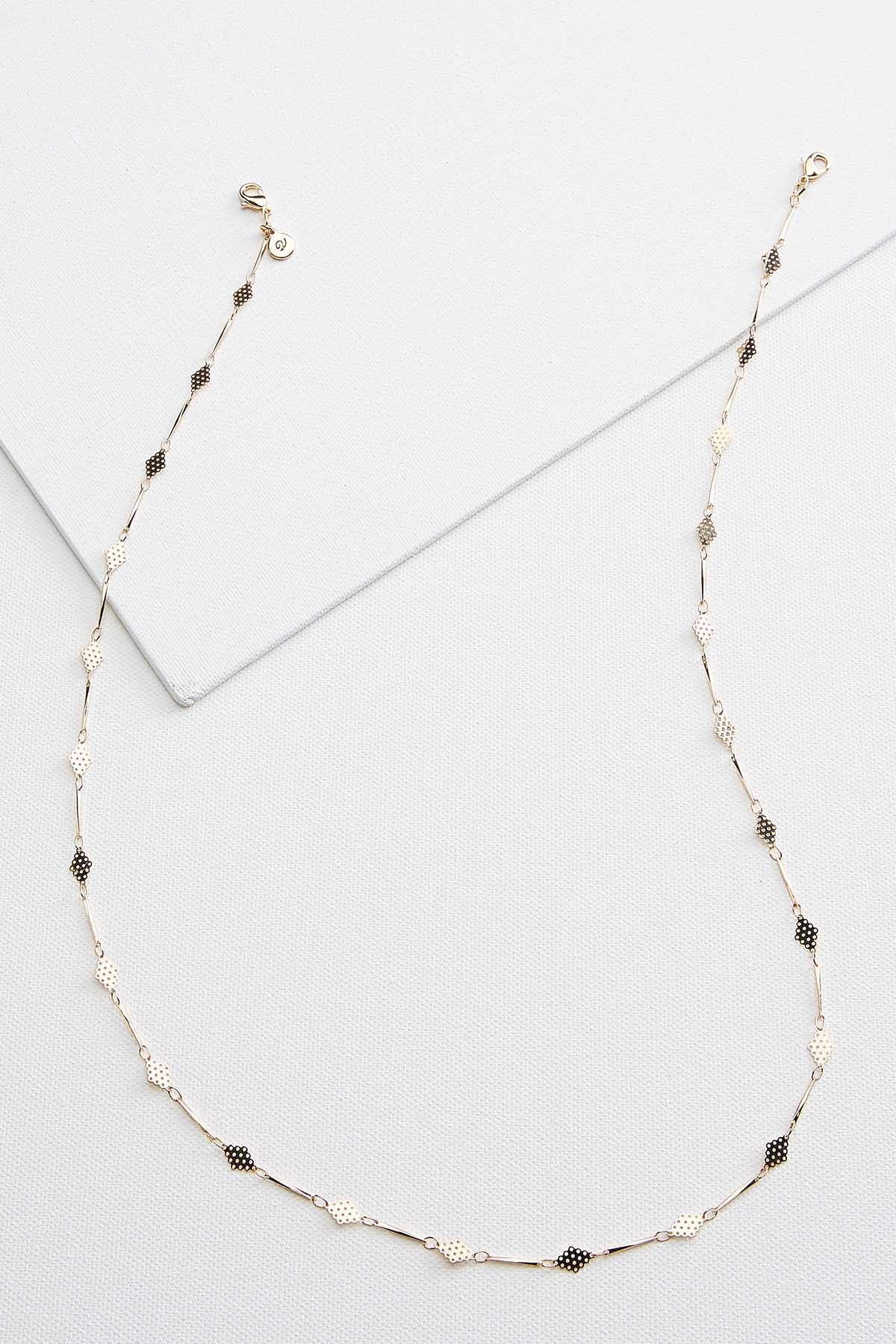 Metal Diamond Mask Chain