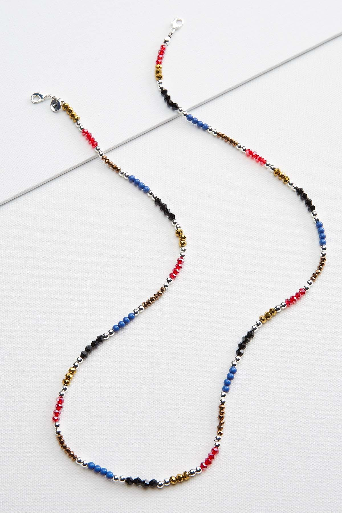 Colorful Beaded Mask Chain