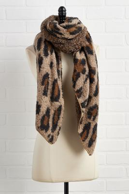 wild about this cozy scarf