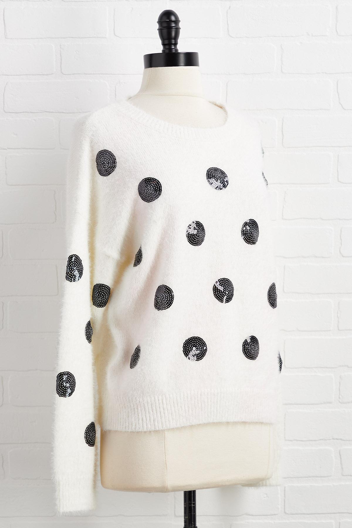 Spot A Little Sparkle Sweater