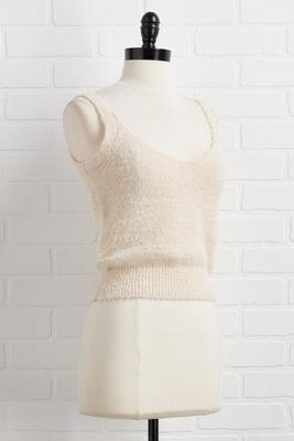 baby knit`s cold outside tank