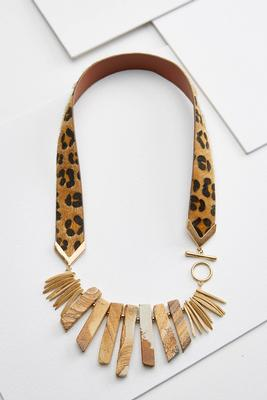 a little wild necklace