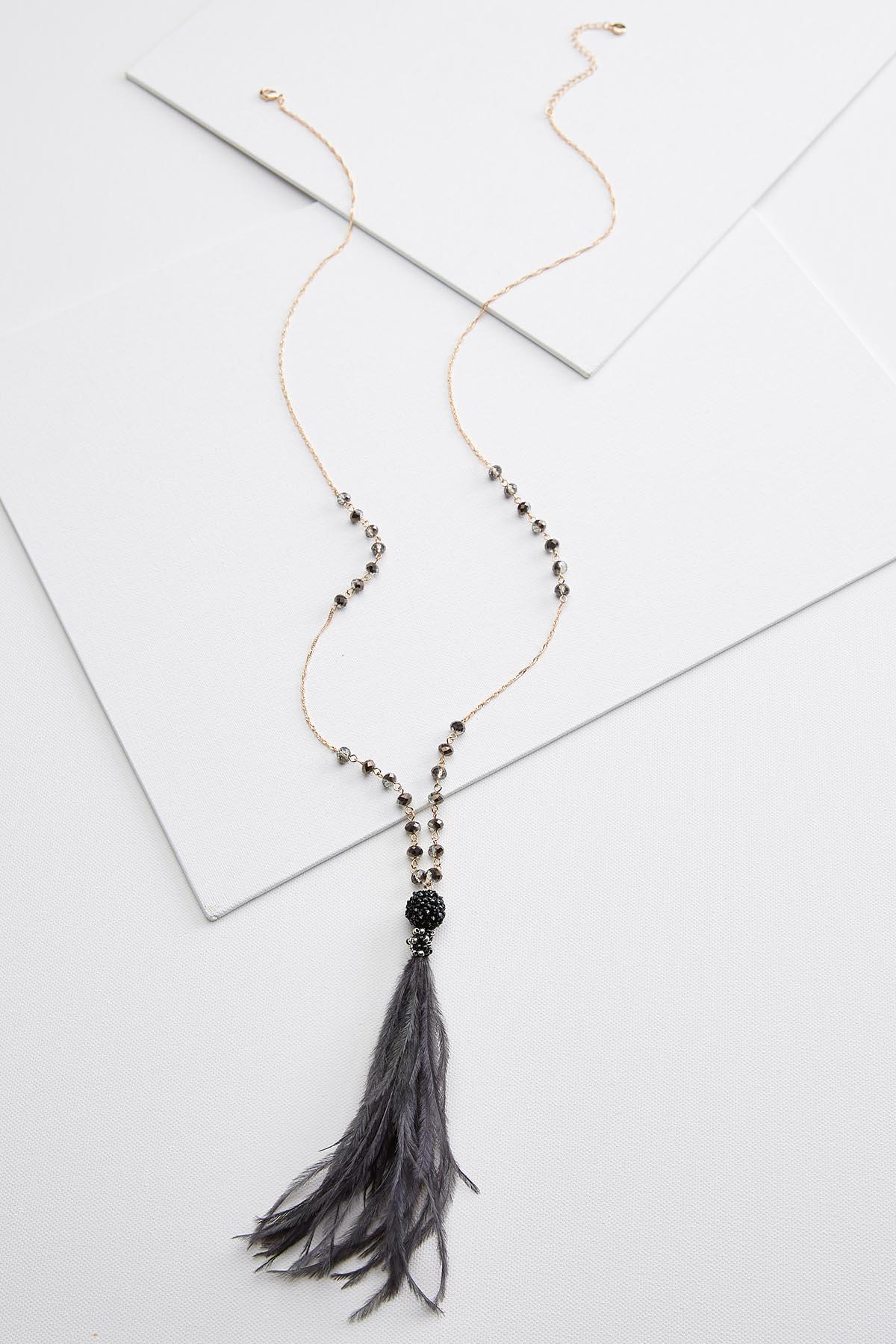 Fancy Feathers Necklace