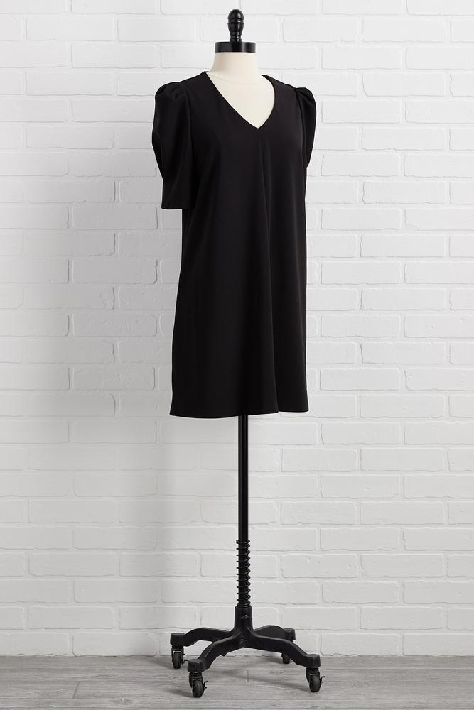 Strut Your Puff Sleeve Dress