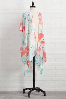 summer somewhere kimono