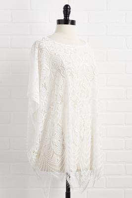 lace go to the beach kimono
