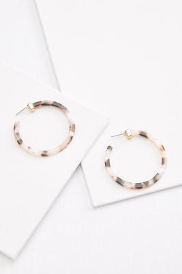 neutral tort earrings