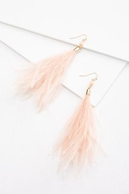 fun feather earrings