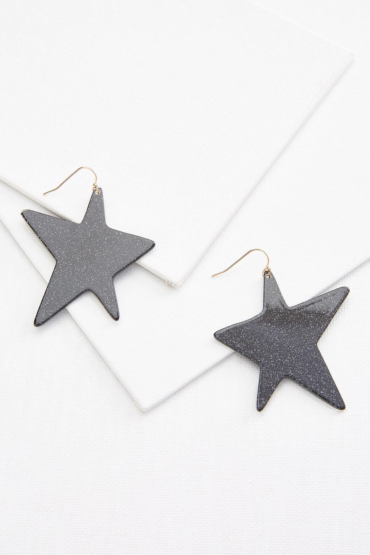 Retro Star Earrings