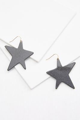 retro star earrings