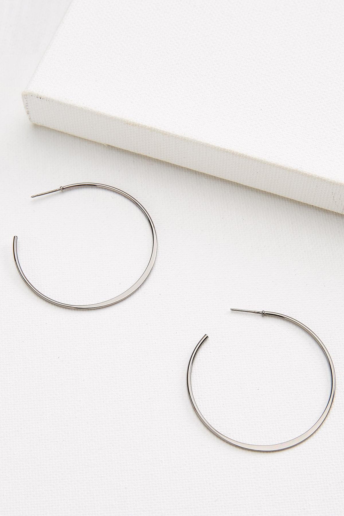 Thin Metal Earrings