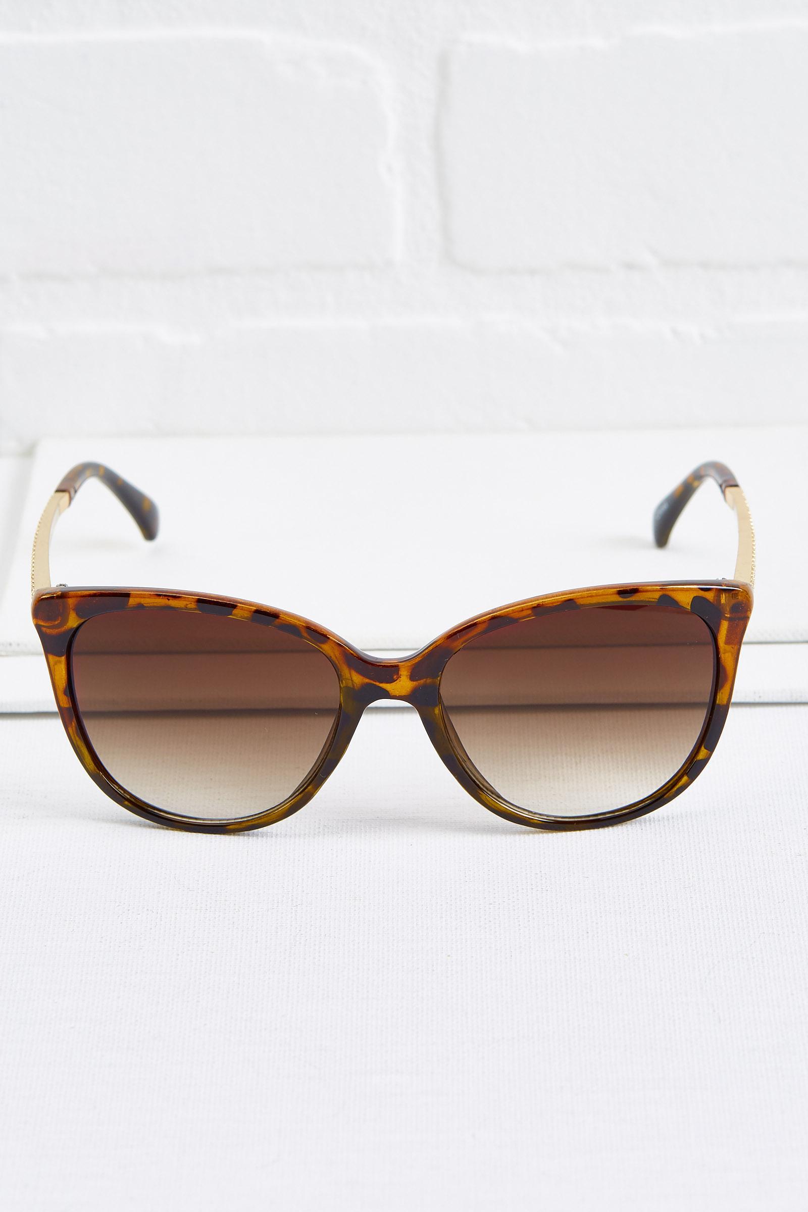 Crystal Sided Sunglasses