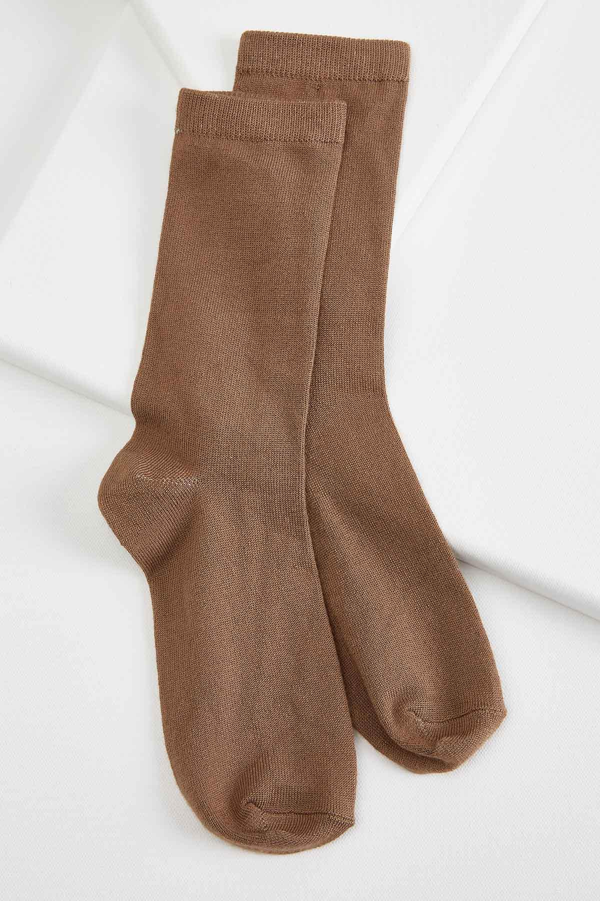 Super Soft Solid Socks