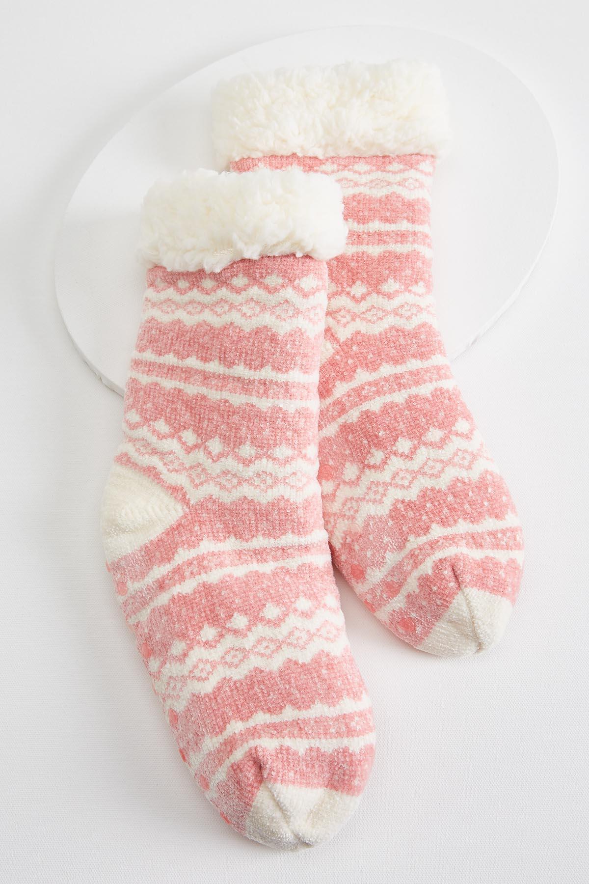 Cozy Sherpa Socks