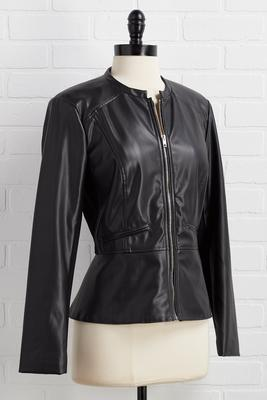 leather gonna happen jacket