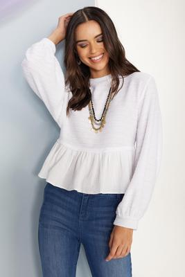 winter white top