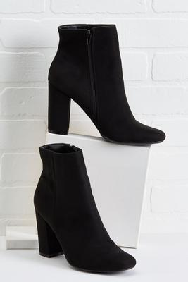 everyday black booties