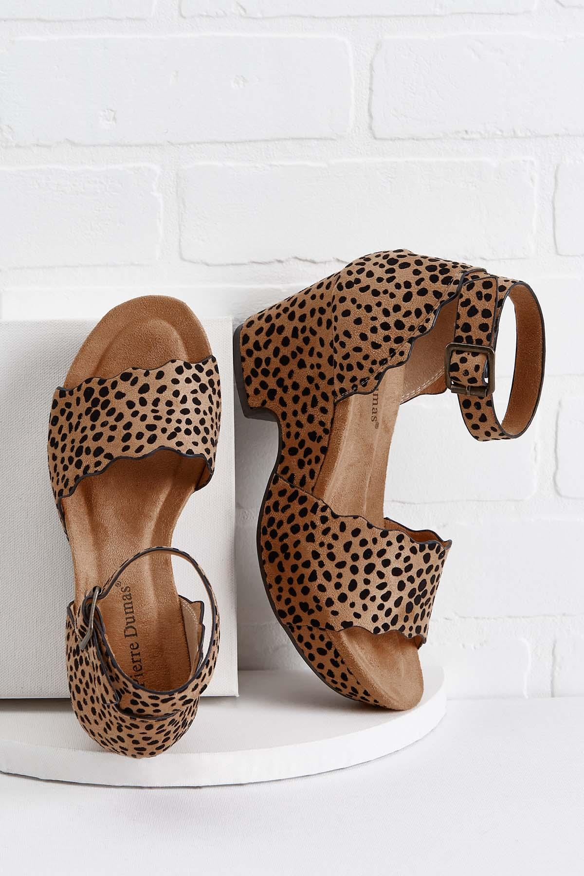 Cheetahlicious Notch Heels