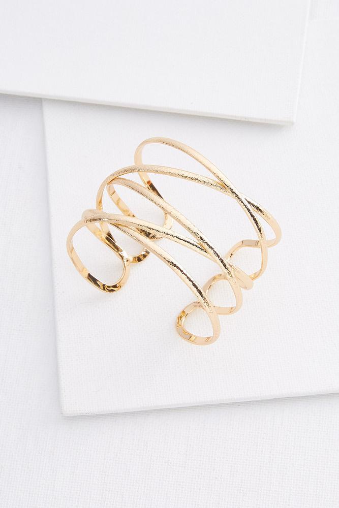 Wire You Leaving Cuff Bracelet