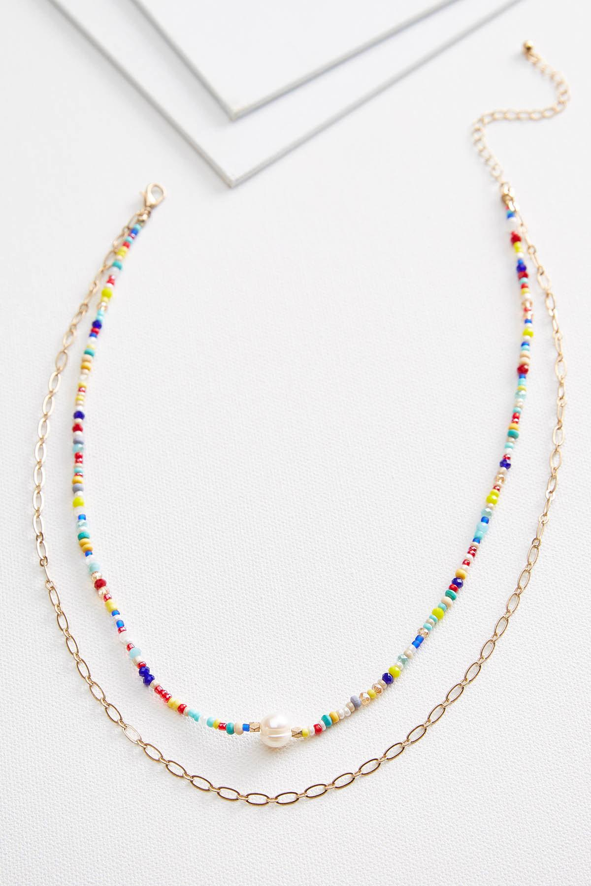 Colorful Beaded Necklace