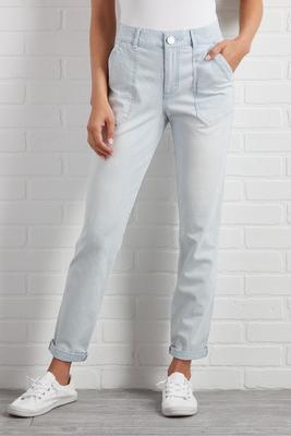 yeah stripe jeans