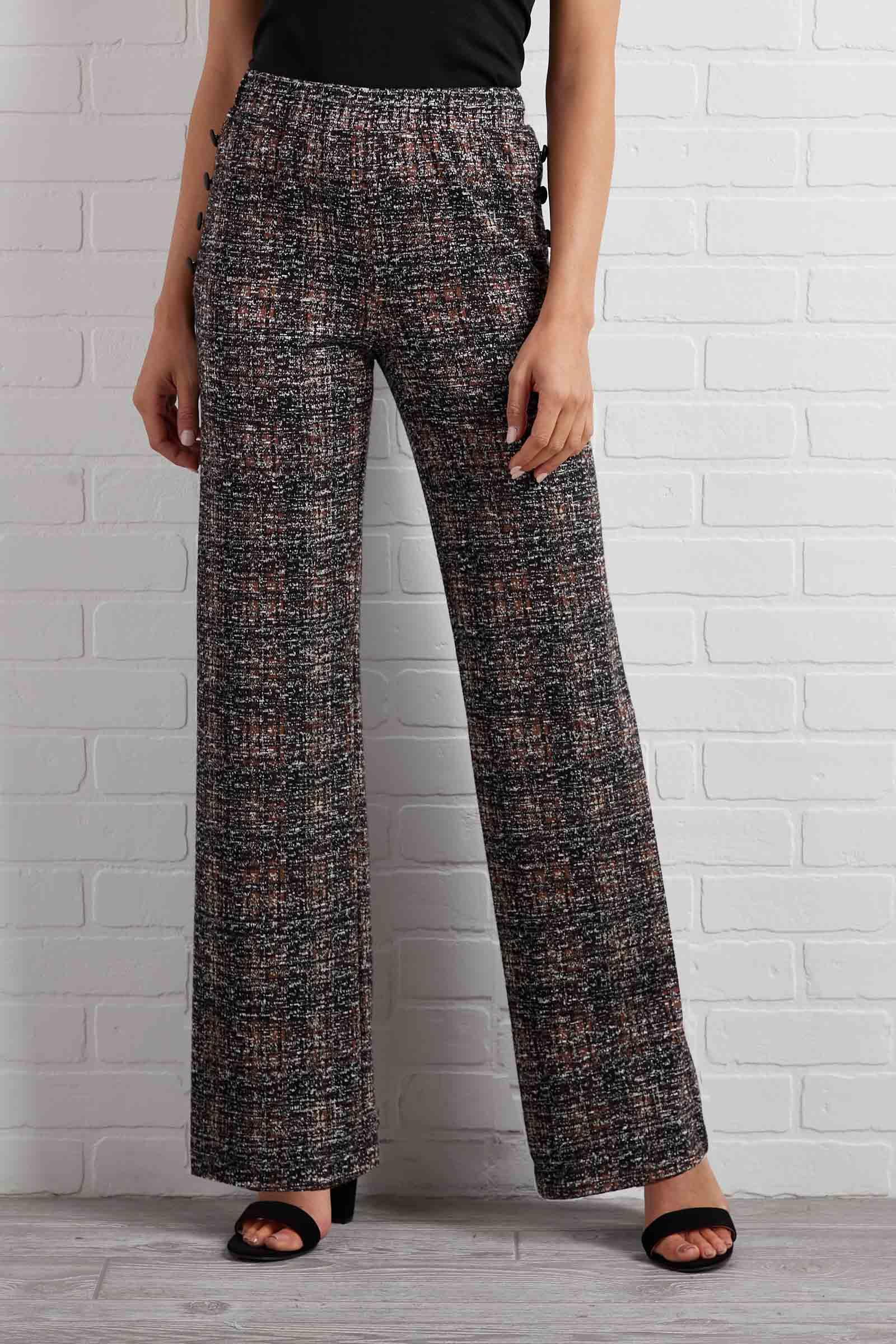 Want And Tweed Pants
