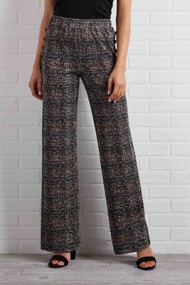 want and tweed pants