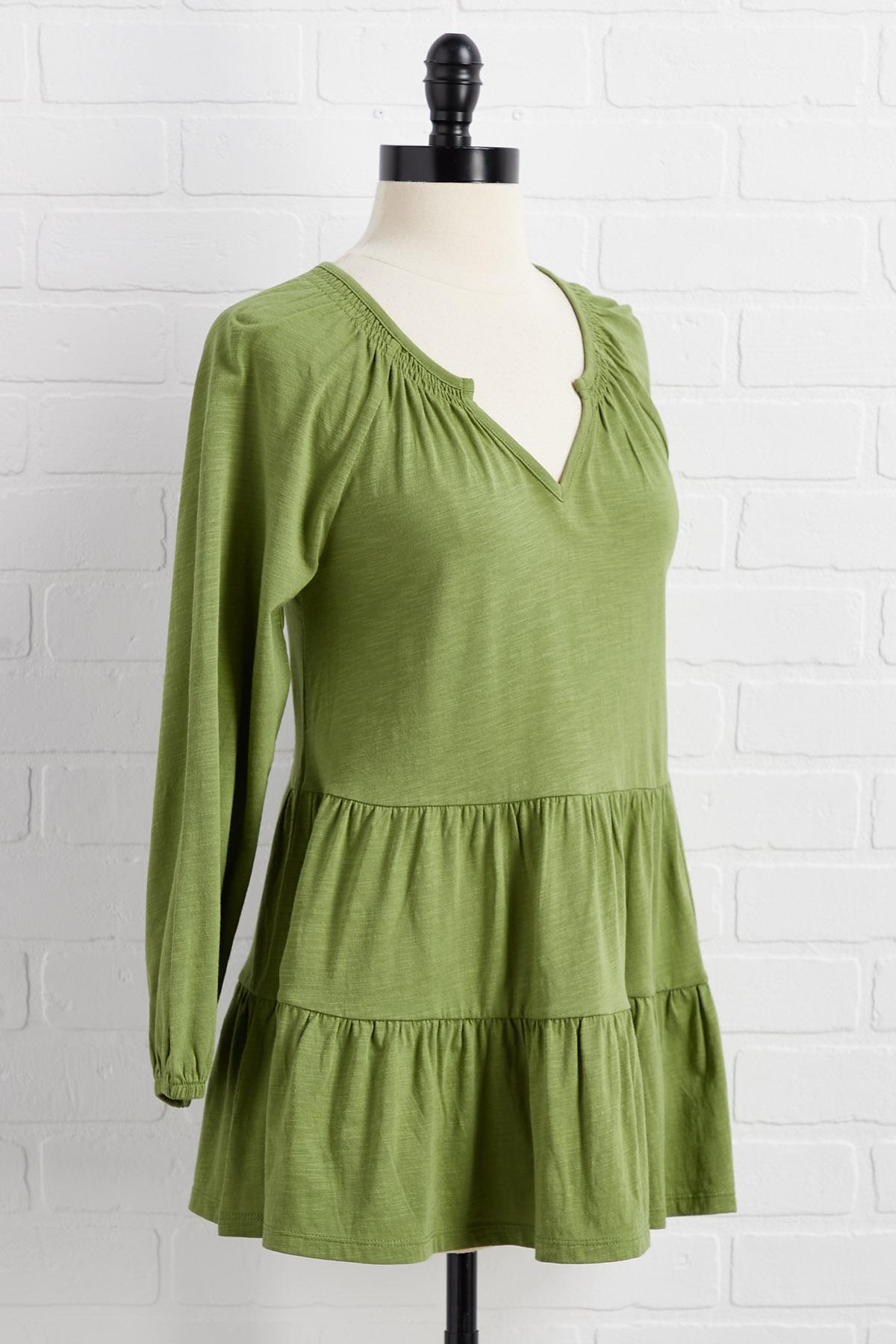 Keen On Green Top