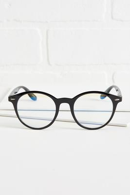 black blue light blocking glasses