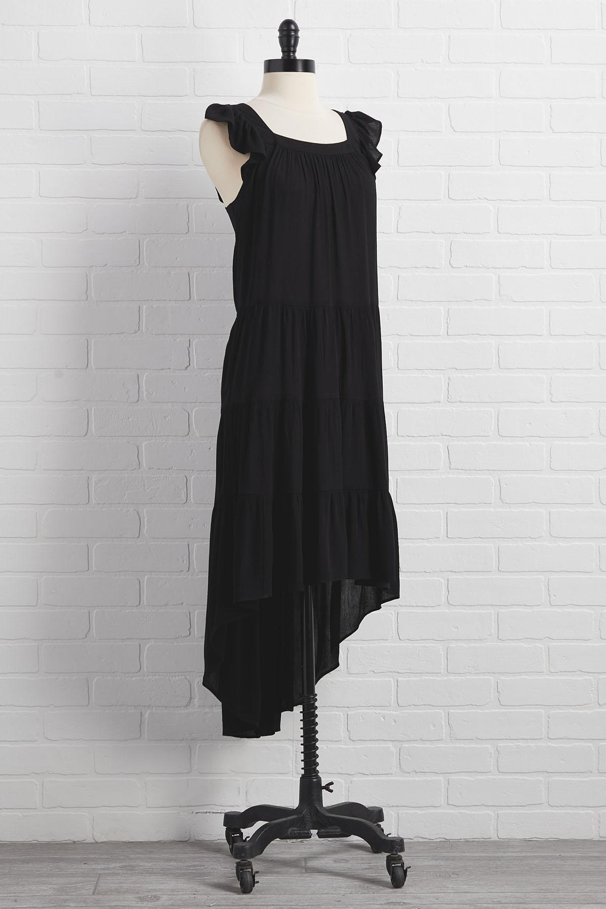 High- Low There Dress