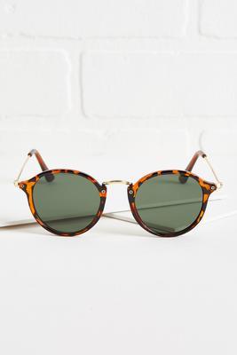 round tort sunglasses