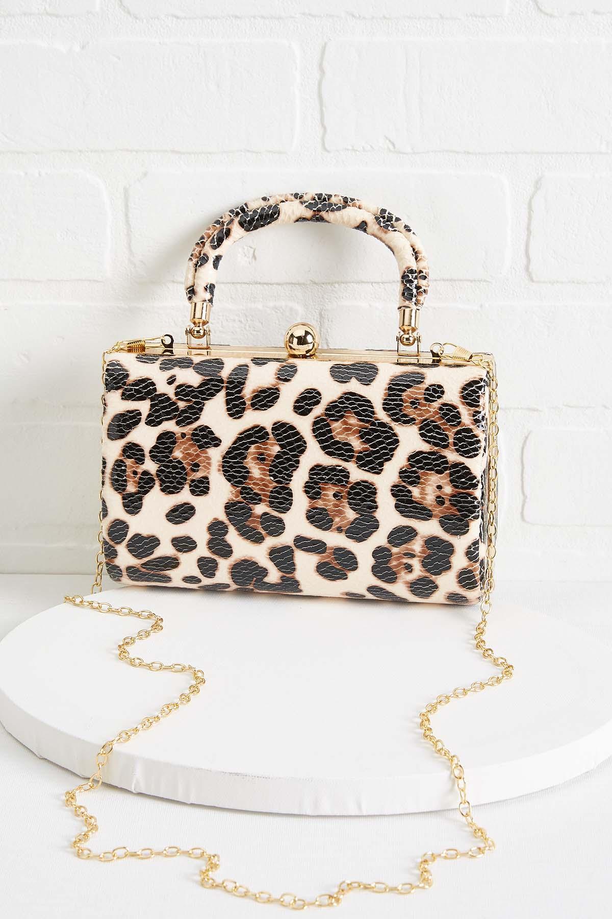 Leopard Convertible Clutch
