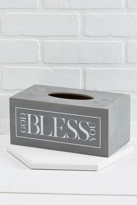 god bless you tissue box